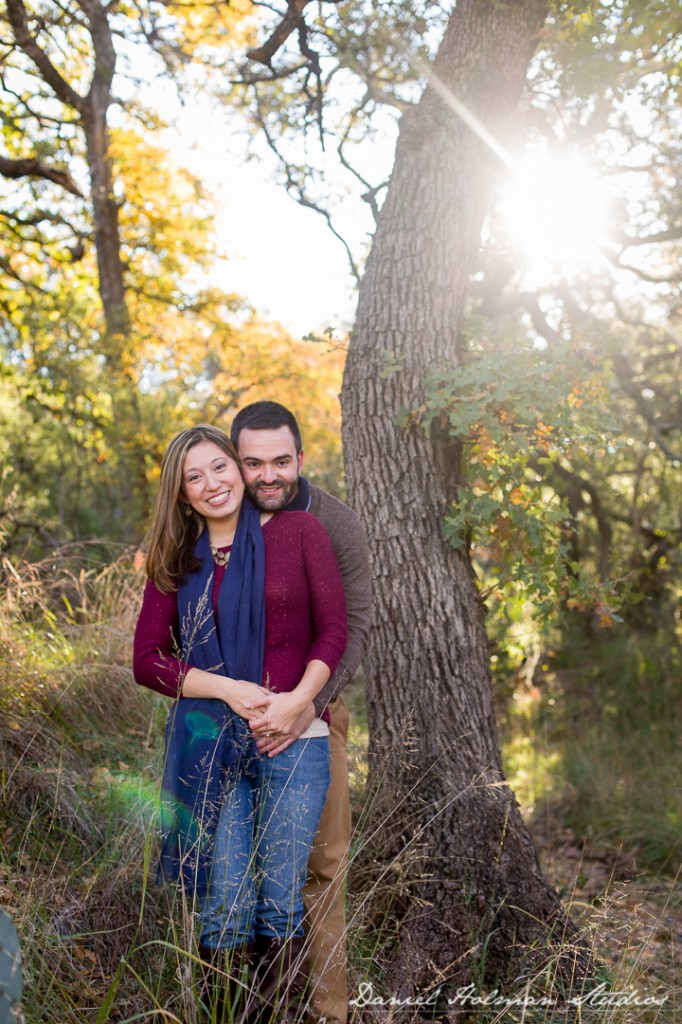 Hill Country Engagement Photos