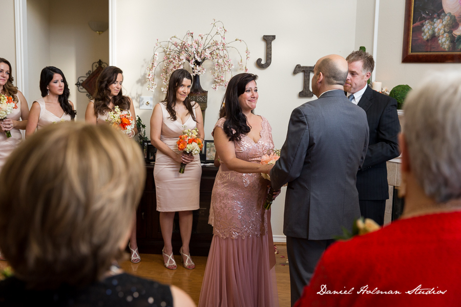 Julie & Todd – Sweet Intimate Home Wedding